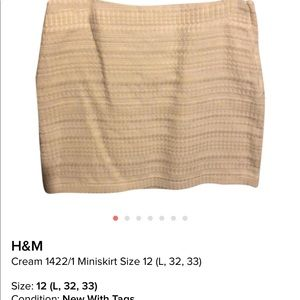 H&M Brocade Skirt